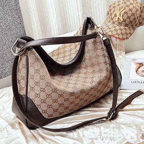 YZJLQML Damentasche DamenbekleidungSchulter Umhängetasche Canvas Einkaufstasche Große Kapazität Damen Tasche Herren Fitness Tasche -L