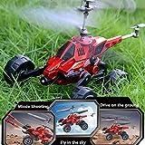 Hanbaili Fliegen-Auto-Hubschrauber, Luft-Flug-Land-Reise-Marktraketen, Fliegen-Fahrzeuge Großes Geschenk für Ihre Kinder
