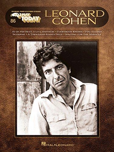 Leonard Cohen: E-Z Play Today #86 (English Edition)