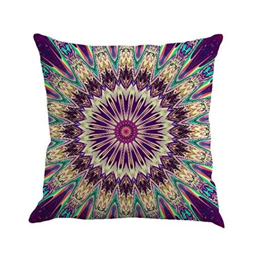 "Kissenbezug Xinan Geometrie Bohemian Pillowcase Kissen Sofa Home Dekor 45x45 (45cm*45cm/18*18"", E)"