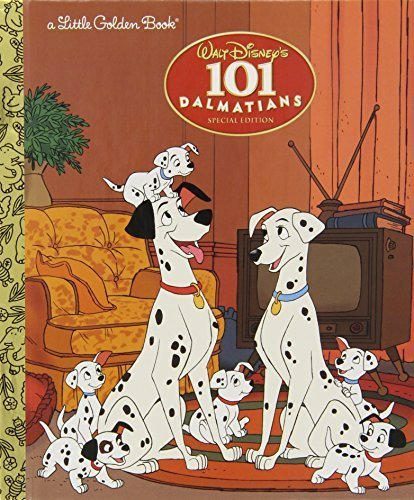 101 Dalmatians (Little Golden Book) by (2007-12-26...