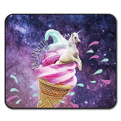 Einhorn EIS Mouse Mat Pad, Magisch Rutschfeste Unterlage - Glatte Oberfläche, verbessertes Tracking, Gummibasis von Wellcoda (Waffel-pad)