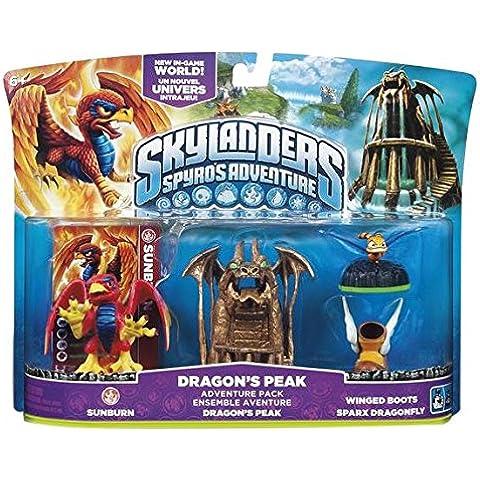 Skylanders Spyro's Adventure: Adventure Pack - Dragon's Peak Adventure Pack (Wii/PS3/Xbox 360/PC) [Importación