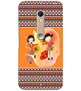 PrintDhaba Friends D-4179 Back Case Cover for MOTOROLA MOTO X PURE EDITION (Multi-Coloured)