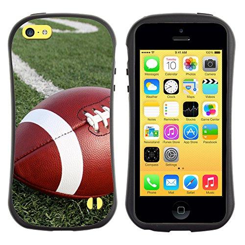 Graphic4You Amerikaner Fußball Football Sport Design Harte Hülle Case Tasche Schutzhülle für Apple iPhone 5C Design #1