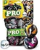 Schildkrt-Funsports-Netztasche-Crossboccia-Doublepack-Pro-2x3er-Set-fr-2-Spieler