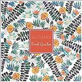 Flores Mantel lino y algodón–MeMoreCool cálido color diseño 100% rurales sensación diversos patrones 33x 33cm, algodón, flower6, 33x33inch
