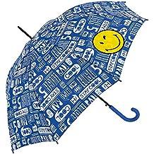 Smiley - Paraguas Largo - Automático - Street Punk