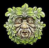 Waldgeist Wandrelief - Laubbläser | Garten Figur Gesicht Baum Deko Schmuck