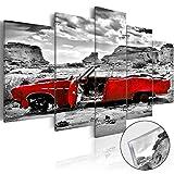 murando Modernes Acrylglasbild 100x50 cm – 5 Teilig - 2 Formate zur Auswahl – Glasbilder – TOP - Wand Bild - Kunstdruck - Wandbild – Bilder – Auto i-C-0074-k-m 100x50 cm