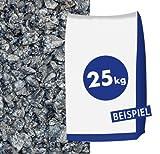 Granitsplitt - in der Farbe Hellgrau grau - 5-–8mm 25kg Sack - zur dekorativen Gartengestaltung
