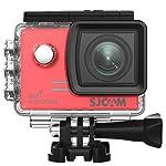SJCAM SJ5000X Elite Wi-Fi 4K Aksiyon Kamerası-Kırmızı