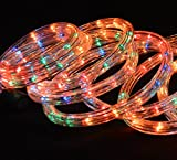 Kingfisher ROPE5M Coloured Rope Light, Transparent, 5 m