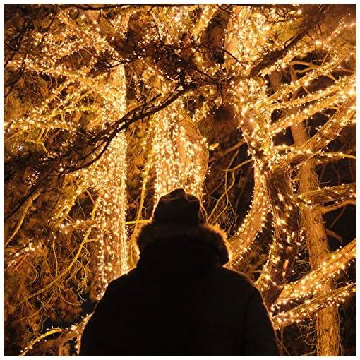 Catena Luminosa Solare, Kolpop 26M Stringa Luci Solari 240 LED / 8 Modi, Impermeabili Luci Decorative da Interni e Esterni per Festa, Giardino, Natale, Halloween, Matrimonio …