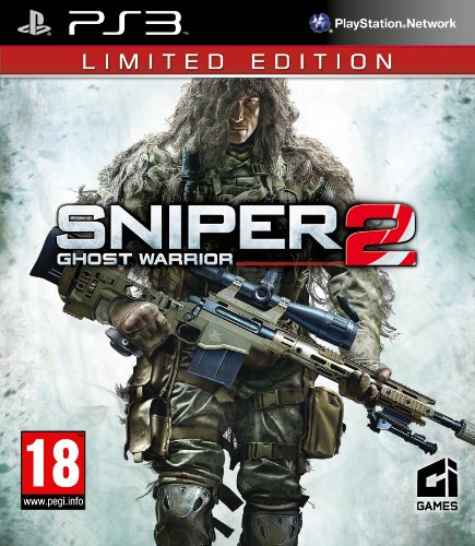 Sniper 2: Ghost Warrior - Limited Edition [PEGI] (Ps3 Sniper Ghost 2 Warrior)