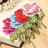 Alcoa Prime New Rose Flower Sew Iron On ...