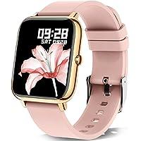 Smartwatch, KALINCO 1.4 Zoll Touch-Farbdisplay mit personalisiertem Bildschirm,Armbanduhr mit Blutdruckmessung…