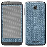 atFolix HTC Desire 510 Skin FX-Denim-Blue Designfolie Sticker - Jeans-Stoff Optik