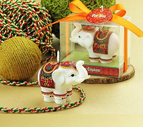e-meoly Cartoon elefante velas de cumpleaños regalos encantador sin humo velas fiesta boda Favor