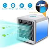 VK ELECTRICAL Mini Cooler Air Purifier Portable 3 in 1 Humidifier Fragrance Diffuser for home   personal space with adjustabl