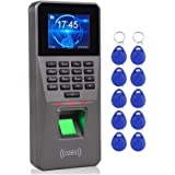 Attendance machine fingerprint Fingerprint Time Attendance Machine TCP/IP Staff Check-in Time Clock Recorder Biometric Access
