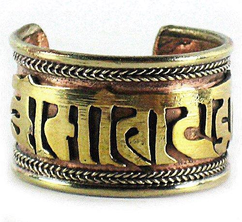 Zoom IMG-1 dharmaobjects anello tibetano curativo con