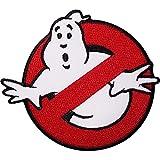 GhostBusters Logo (HQ) Bestickt Zum aufbügeln Aufnäher von fat-catz-copy-catz