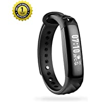 MevoFit Slim HR Smart-Fitness-Band-Watch for Fitness & Health PRO Sporty-Sleek Heart-Rate-Fitness-Band, All Activity