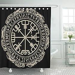 Cortina de Ducha diseño celta