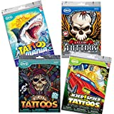 Bumper Pack of Boys Temporary Tattoos (200 tattoos in total)