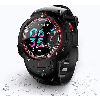 N NEWKOIN Reloj Inteligente Reloj Impermeable con Bluetooth Reloj Deportivo Reloj de Pulsera Fitness Rastreador de