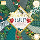 "First Edition Botanical Beauty Premium Paper Pad 8""x8"" 48 Sheets (FSC)"