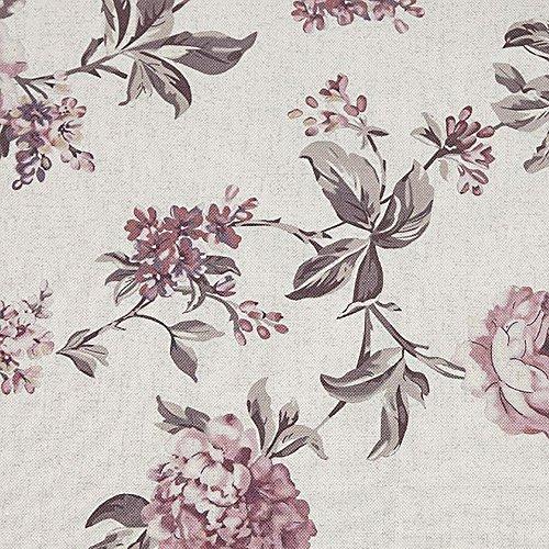 Polsterstoff Dekostoff 0,5lfm 148cm breit Muster Landhausstil Rosen Floral ROS17 - 3
