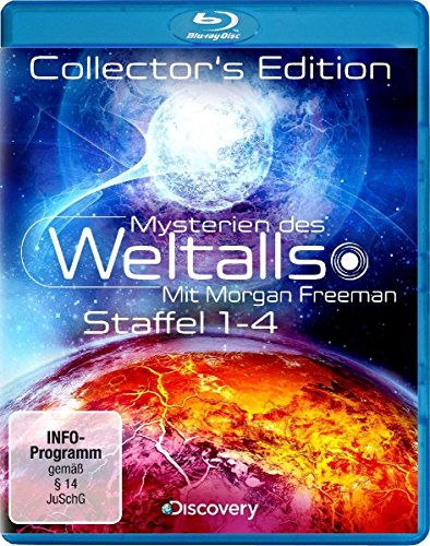 Mit Morgan Freeman: Staffel 1-4 (Limited Collector's Edition) [Blu-ray]