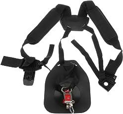 FNT Safe Double Shoulder Harness Strap Belt for Brush Cutter Strimmer Trimmer