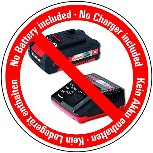 Einhell Akku Multischleifer TE-OS Li Solo Power X-Change (Lithium Ionen, 18 V, Schleiffläche 104 cm², Staubfangbox und Absaugadapter, 6x Klett-Schleifpapier, ohne Akku und Ladegerät)