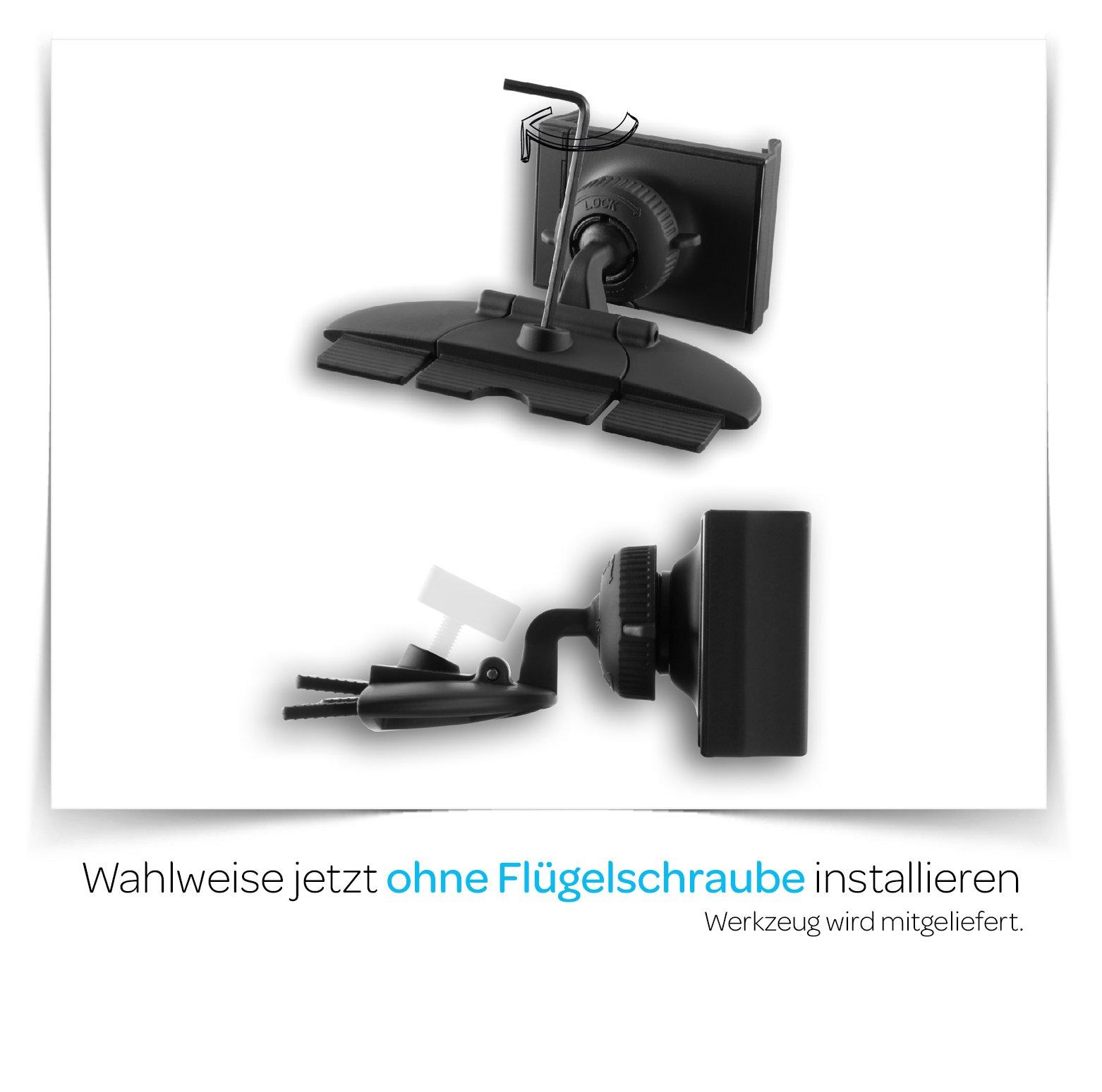 grooveclip-CD2-Slider-KFZ-Halterung-fr-den-CD-Schlitz-Handyhalterung-mit-Slider-Technologie-Halterung-passt-in-jeden-gewhnlichen-Auto-CD-Player-universell-fr-Apple-iPhone-Samsung-Navi-uvm