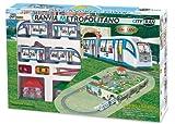 Pequetren pequetren105Straßenbahn City Modell Zug mit Underground Diorama und Zubehör