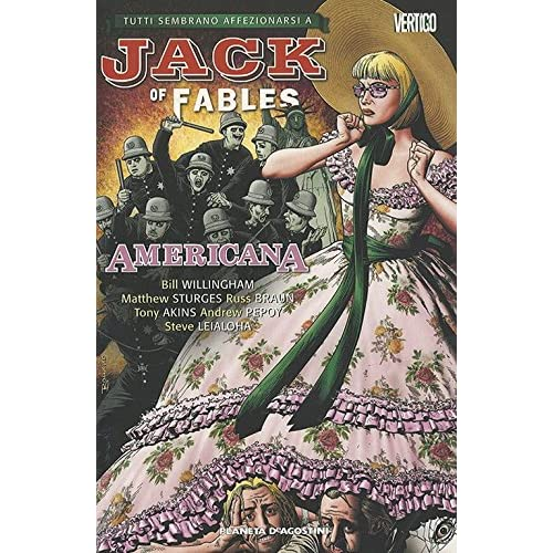 Americana. Jack Of Fables: 4