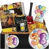 Zum 38. Jubiläum | Bier Geschenk + Trinkspiel | Geschenke zum 38 ten Geburtstag