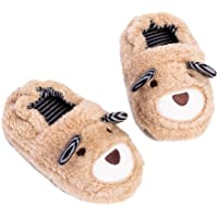 Hezeisoar Pantofole A Casa per Bambini Peluche Antiscivolo Scarpe Indoor delle Pantofole per Ragazzi Ragazze Invernali…