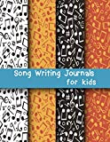 Song Writing Journal for Kids: Dual Wide Staff Manuscript Sheets & Wide Ruled/Lined Songwriting Paper Journal For Kids & Teens