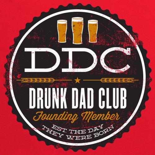 Drunk Dads T-Shirt, Herren Rot