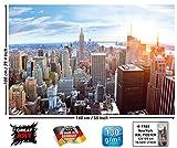 GREAT ART XXL Poster - New York City Skyline - Wandbild