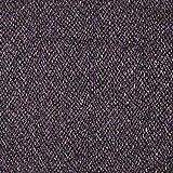 Fabulous Fabrics Bouclé, beschichtet – schwarz/lila —