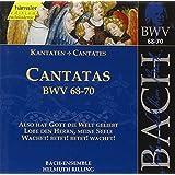 Edition Bachakademie Vol. 22 (Geistliche Kantaten BWV 68-70)