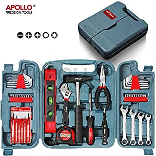 Hi-Spec 53teiliges Werkzeugset in Organisationskoffer für Haushalt, Garage oder Auto