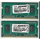 8Go Kit (2x 4Go) DDR3L SO-DIMM PC3–128001600MHz 1,35V Low Voltage de 11cl Apple PC Ordinateur Portable mémoire vive (for 2012Apple MacBook Pro S, 2012iMac Mac mini S S, and 2011/2012)