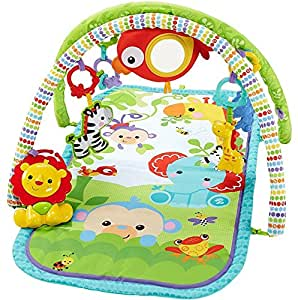 Fisher-Price - Tapis Amis de la Jungle 3 en 1