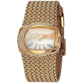 Just Cavalli Reloj analogico para Mujer de Cuarzo con Correa en Acero Inoxidable R7253277002